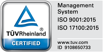 CERTIFIED ISO 9001:2015 - ISO 17100:2015