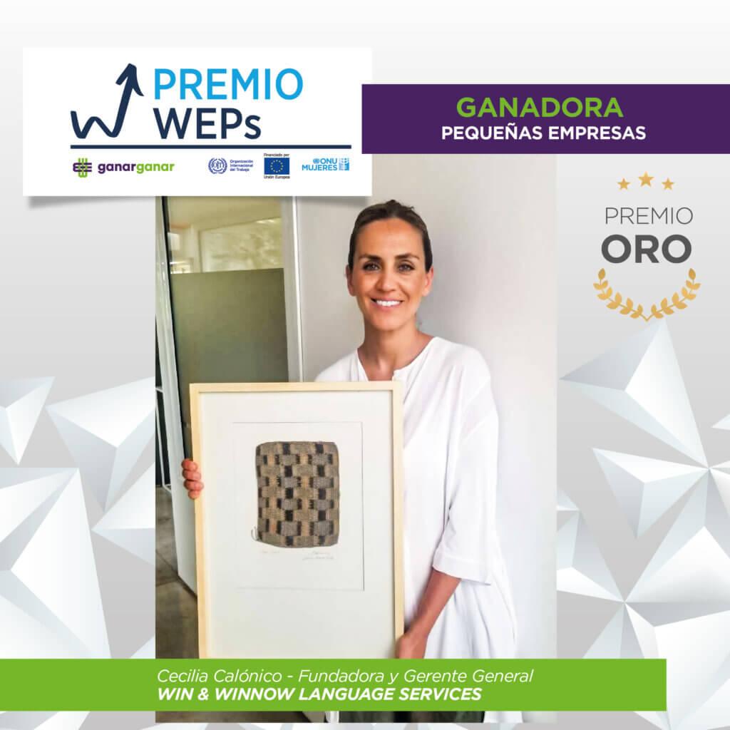 Premio WEPs Win and Winnow