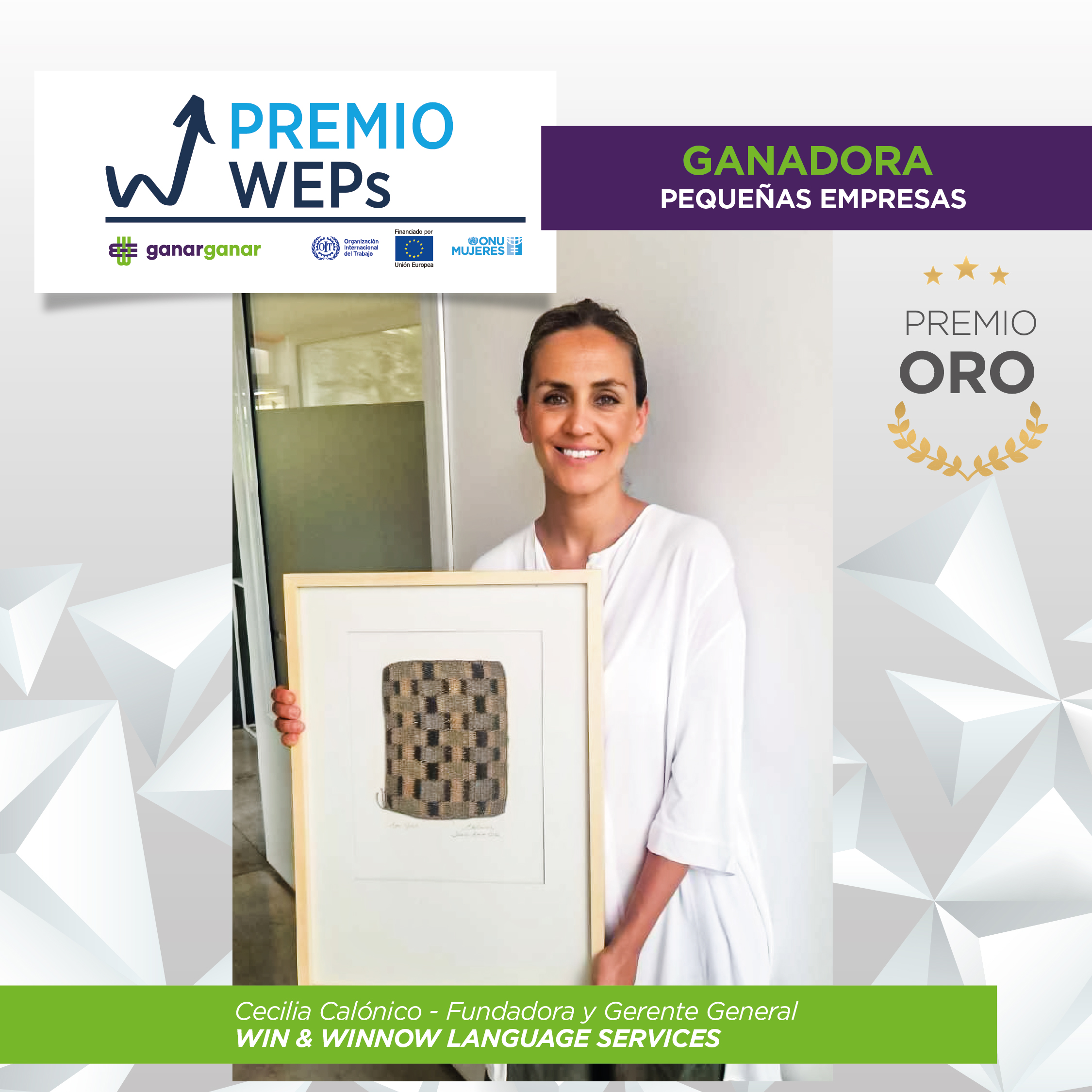 Premio WEPs Win and Winnow