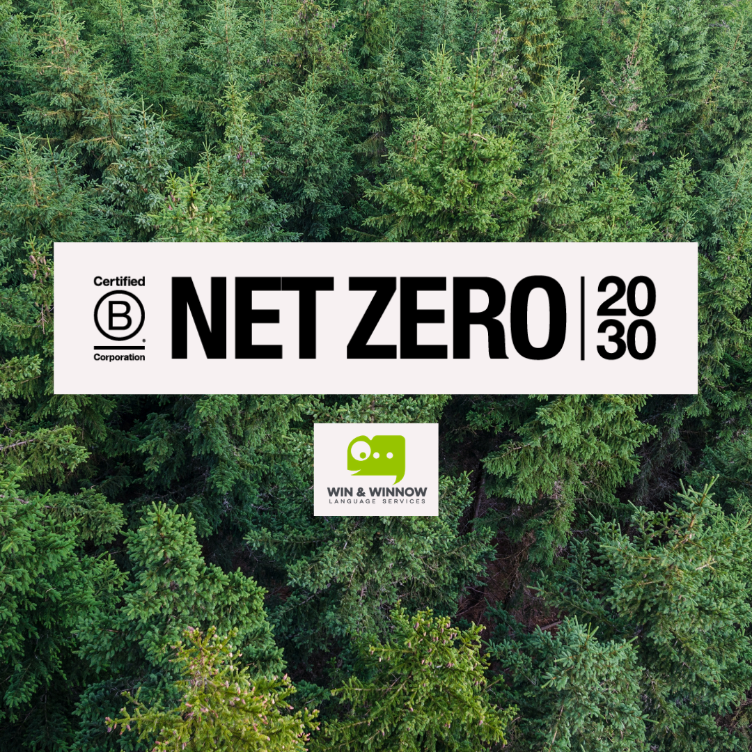 Net Zero 2030 Win & WInnow