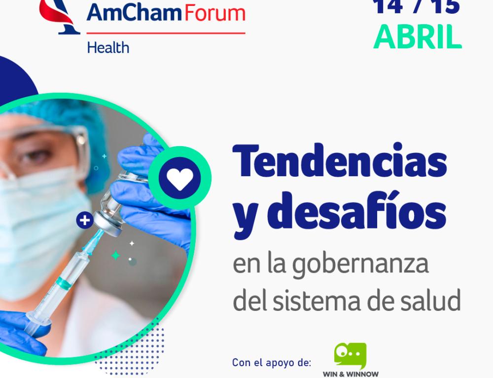 Win & Winnow es sponsor del Ciclo Dialogue4Health organizado por AmCham Argentina